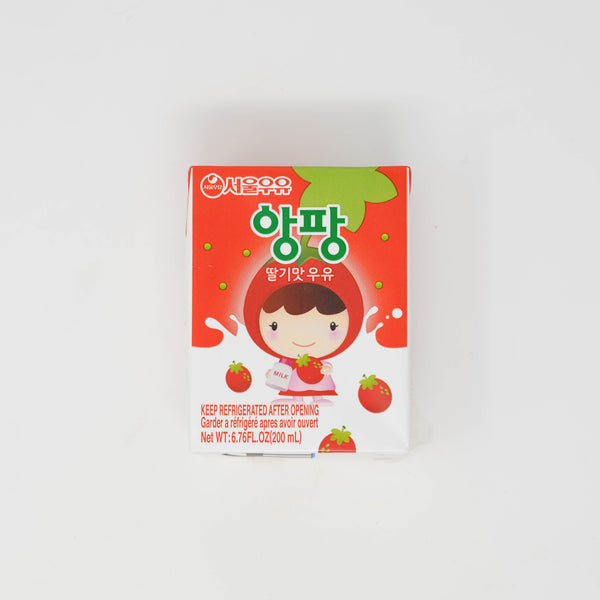 서울 우유 앙팡 딸기맛 우유 - SEOUL MILK ENFANT STRAWBERRY FLAVOR MILK (6.76 oz X 6 packs)