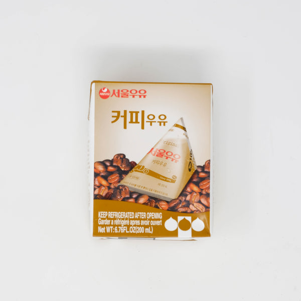 서울 우유 앙팡 커피 우유 - SEOUL MILK ENFANT COFFEE MILK (6.76 oz X 6 packs)
