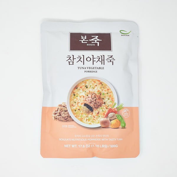 본죽 참치 야채죽 - Bonjuk Tuna Vegetable Porridge (17.6 oz)