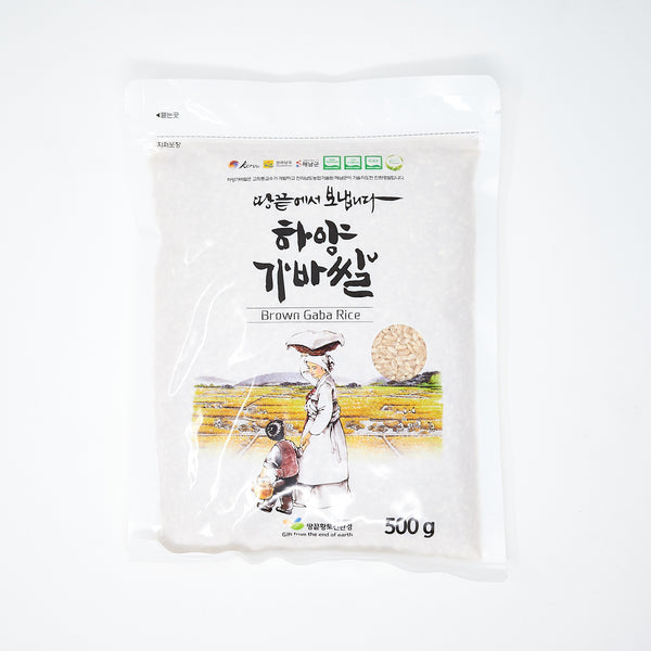 가바 현미 쌀 - Brown Gaba Rice (500 G)