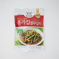 종가집 열무 김치 한국산  - Young Radish Leaves Kimchi made in Korea (500g)