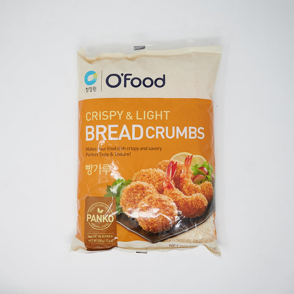 청정원 빵가루 - O'Food Crispy and Light Breadcrumbs Panko (500g)
