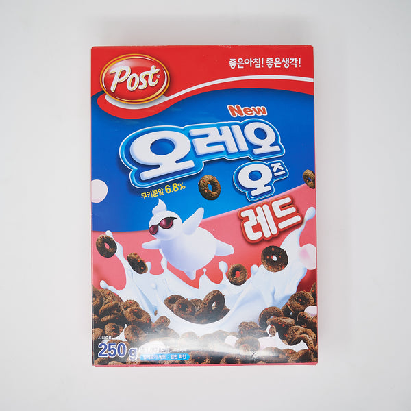 오레오 오즈 레드 - Post OREO O'S RED CEREAL (250G)