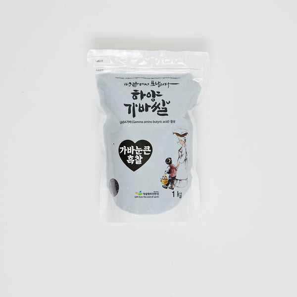 가바 눈큰 흑찰 - GABA BLACK GLUTINOUS RICE (2.2 LBS)