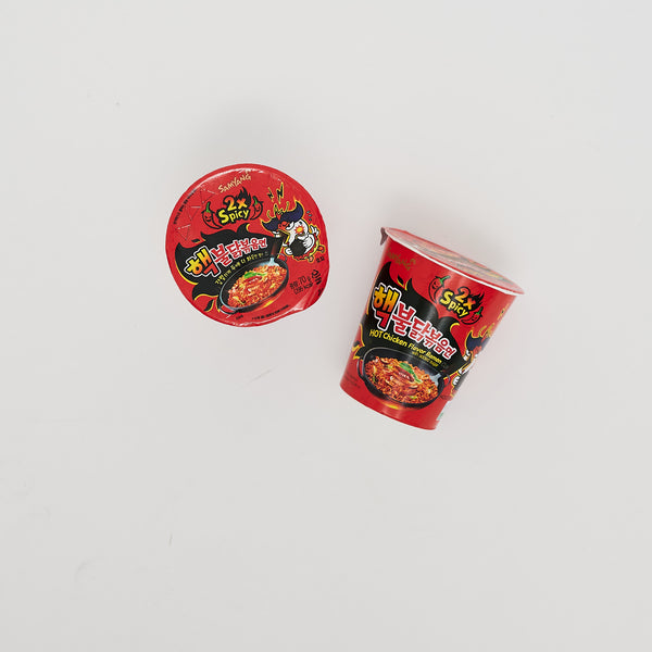 삼양 핵 불닭 볶음 면 - BULDAK HOT CHICKEN FLAVOR RAMEN (6 CUPS)