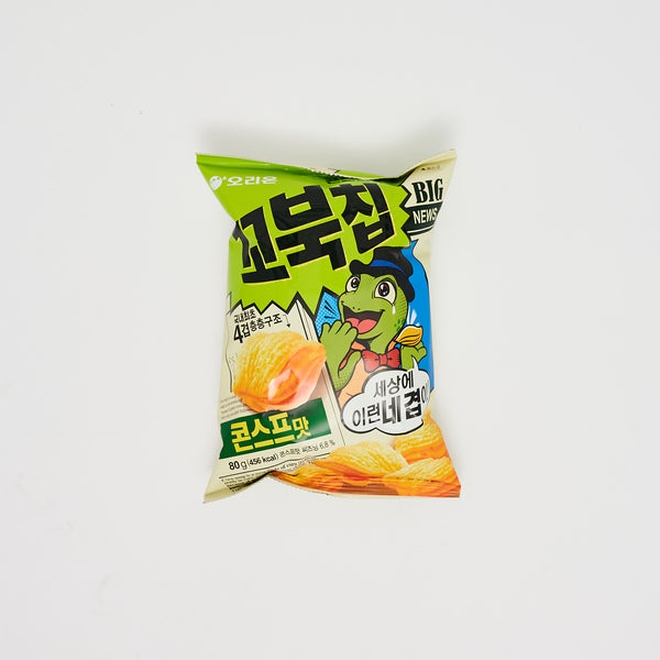 꼬북칩 콘스프 맛 - TURTLE CHIP CORN SOUP FLAVOR (80G)