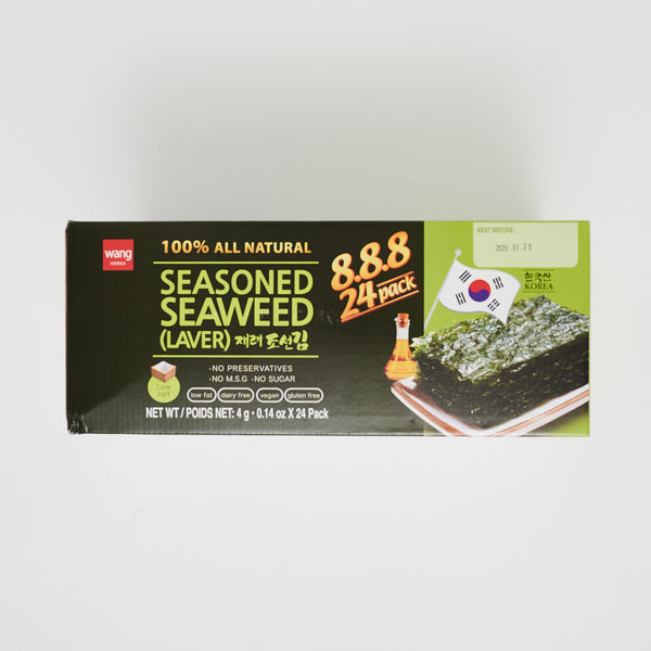 재래 조선김 - SEASONED SEAWEED (24 PACKS)