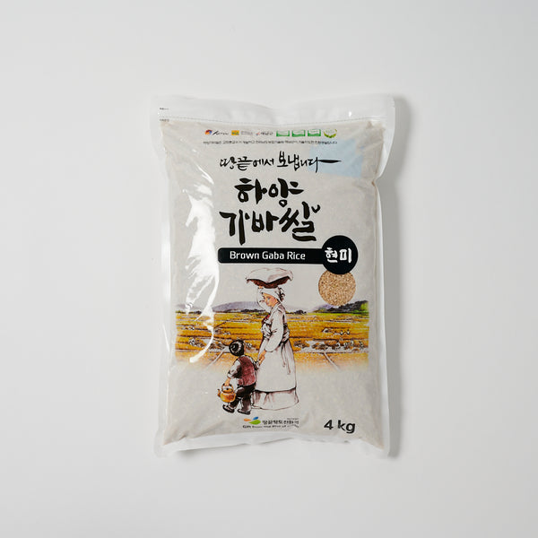 가바 현미 쌀 - Brown Gaba Rice (8.8 LBS)