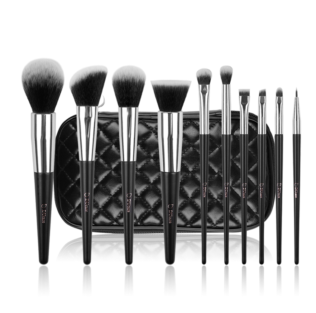 Professional Makeup Brush Set (10 pcs)