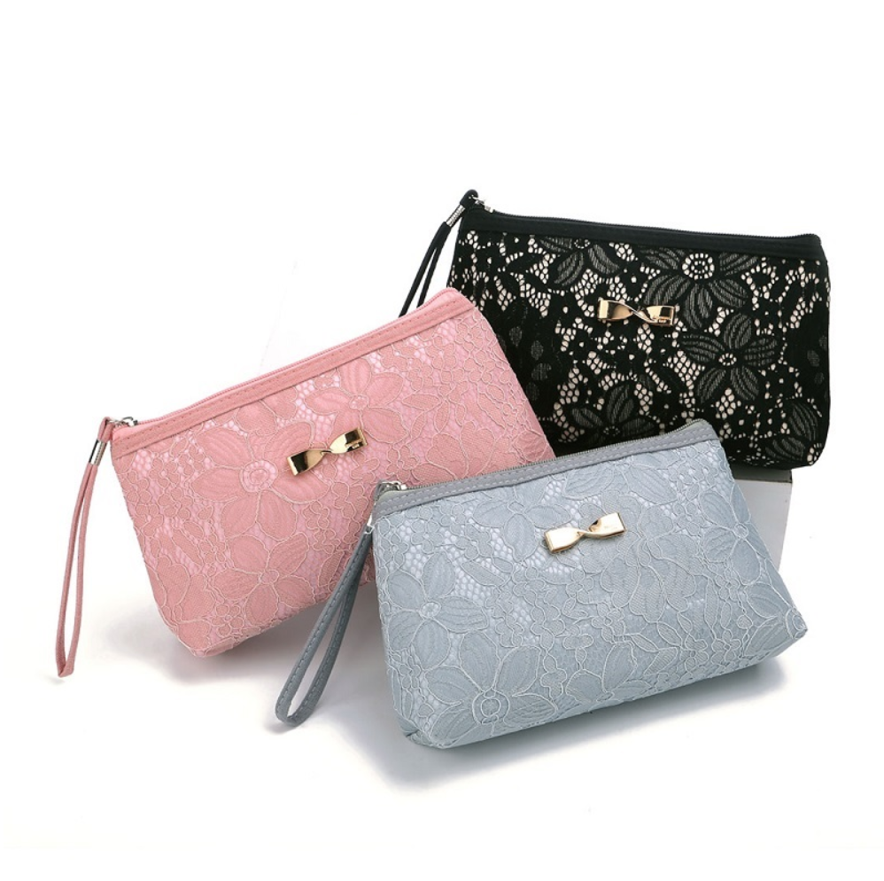 Classy Lace Cosmetic Bag