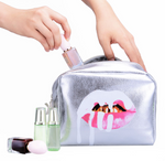 Platinum Bling Makeup Bag