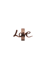 Load image into Gallery viewer, brass love charm