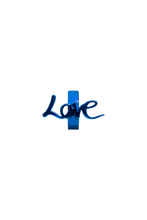 Load image into Gallery viewer, blue love charm