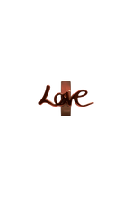Load image into Gallery viewer, brown love charm