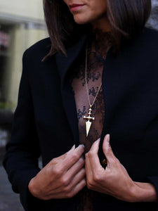 The Dagger Statement Necklace