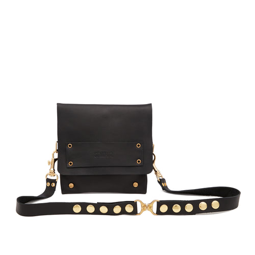 The Statement Belt Bag in Blackest Black