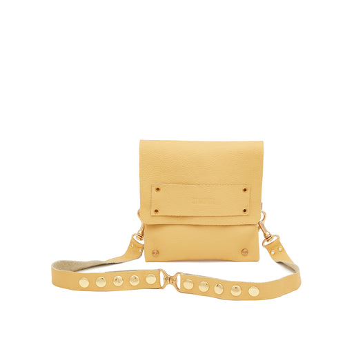 The Statement Belt Bag in Butter Yellow