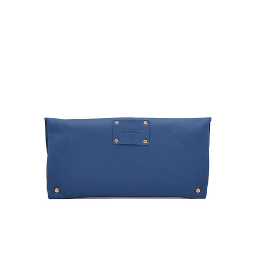 The Classic Clutch in Cobalt Blue
