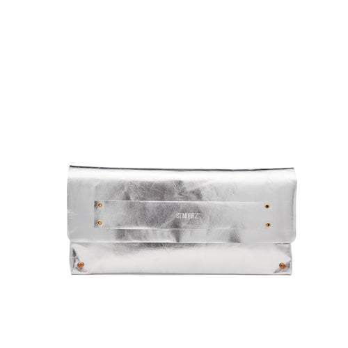 The Classic Clutch in Space Silver