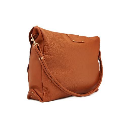 The Tote in Burnt Tan