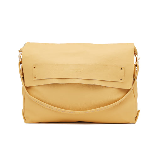 The Tote in Butter Yellow