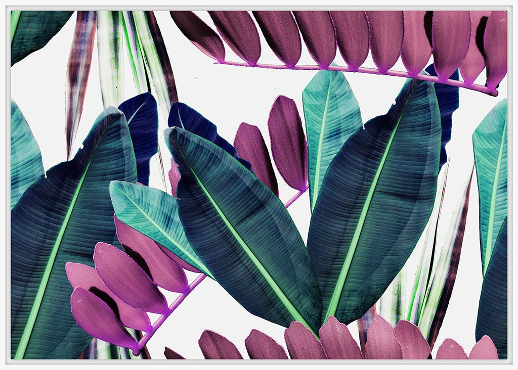 Pink&Green Leaves
