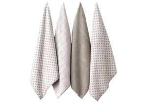 Leo Taupe Kitchen Towel