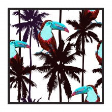 Floating Toucan Print