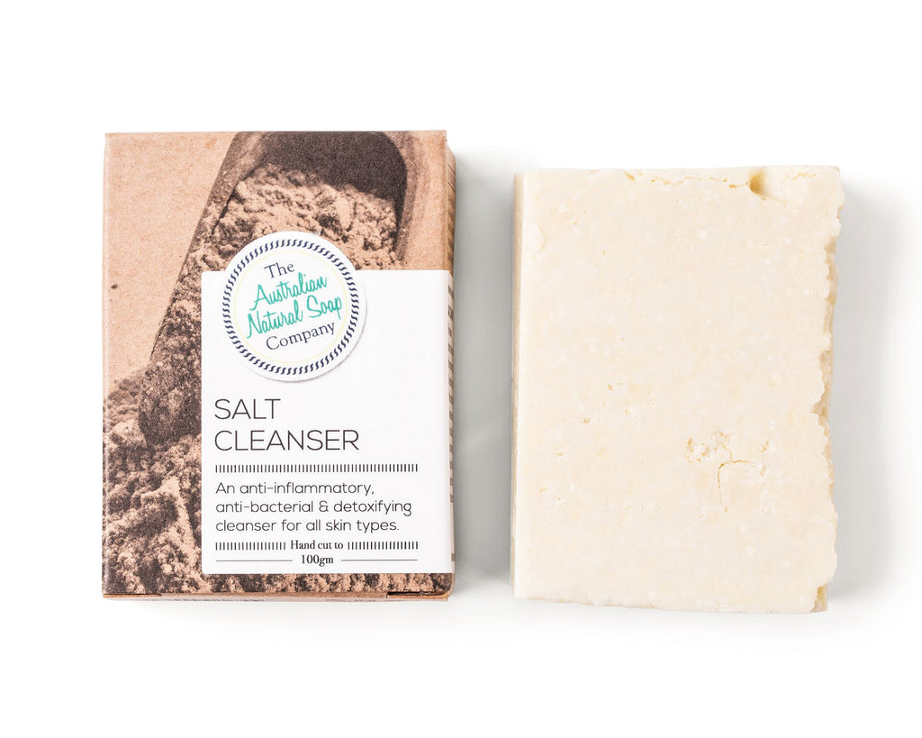 Natural Soap Bar - Salt Cleanser