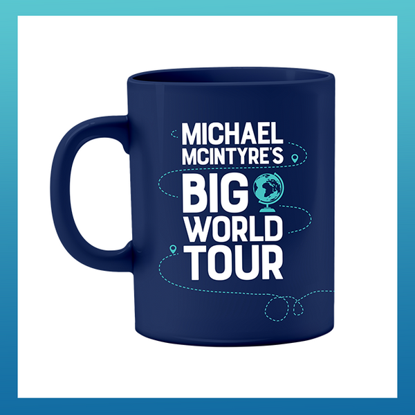 Big World Tour Mug Navy
