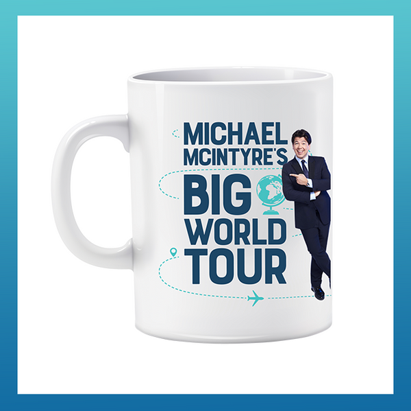 Big World Tour Mug White