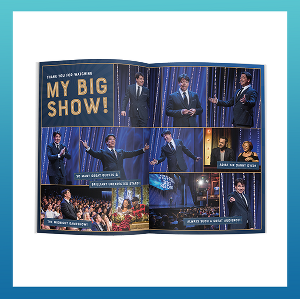 Micheal McIntyre's Big World Tour Official Programme