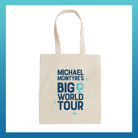 Big World Tour Tote Bag