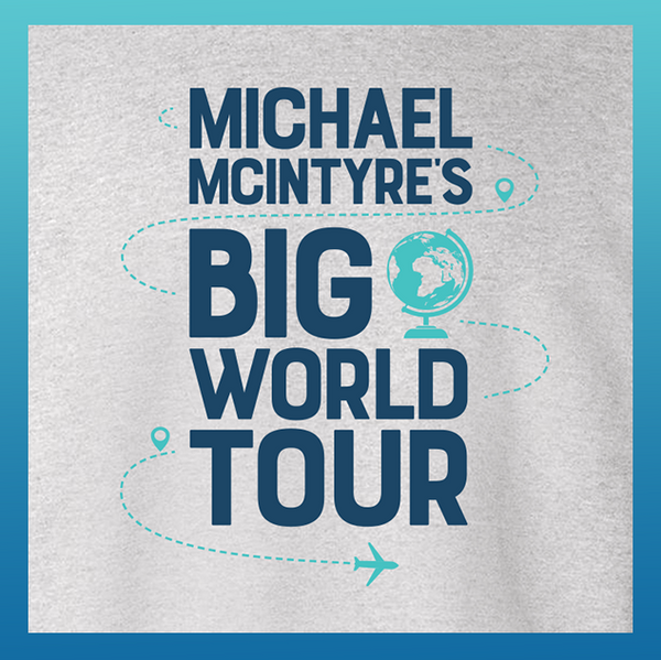 Micheal McIntyre's Big World Tour Sweater