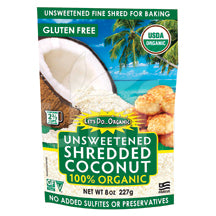 Let's Do...Organic - Unsweetened Shredded Coconut  - 8 oz. - AIP Marketplace at Vivi Puro