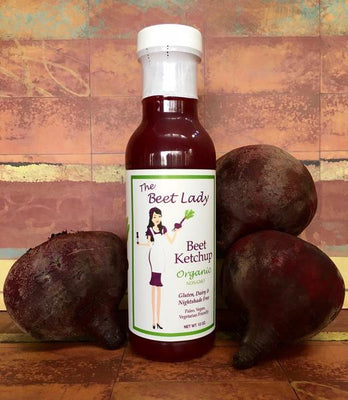 The Beet Lady -Original Beet Ketchup Organic And Non-GMO - AIP Marketplace at Vivi Puro