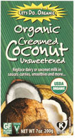 Let's Do ...Organic - Creamed Coconut -unsweetened -7 oz - AIP Marketplace at Vivi Puro