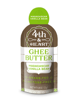 4th & Heart- Vanilla Bean Ghee On The Go - .08 size packs - AIP Marketplace at Vivi Puro
