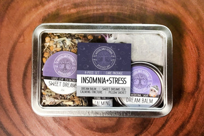 Woodland Apothecary Insomia Stress Care Package