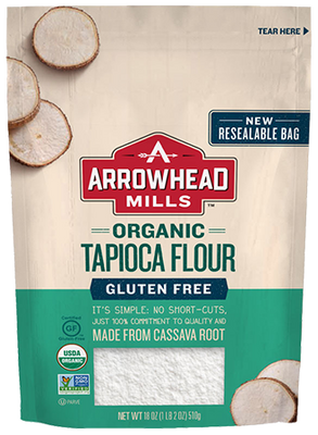 Arrowhead Mills - Tapioca Flour - 18 oz - AIP Marketplace at Vivi Puro