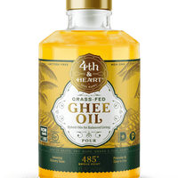 4th & Heart - Pourable Ghee Oil - 16oz - AIP Marketplace at Vivi Puro