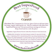 The Beet Lady - Beet SuperFood Coffee - 5.4oz