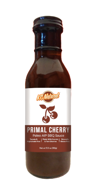 KC Natural - Primal Cherry AIP BBQ Sauce - AIP Marketplace at Vivi Puro