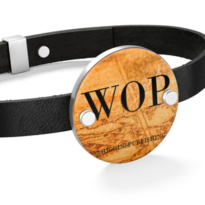 WOP Leather Bracelet