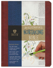 Load image into Gallery viewer, HCSB Illustrator's Notetaking Bible - Higgins Publishing
