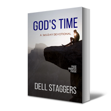 Load image into Gallery viewer, God's Time by Dell Staggers Angle View