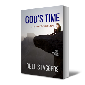 God's Time by Dell Staggers Angle View