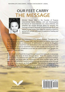 Our Feet Carry the Message by Sharan Allen - Back Cover