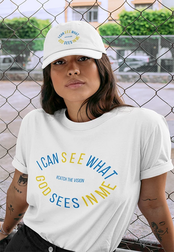 women of purpose tshirt and cap 2019