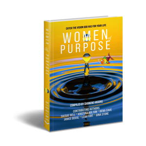 women of purpose book cover hardcover
